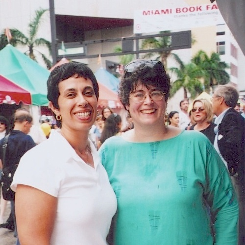 MIamiBookFair 2005 RV Reyes Donna Andrews